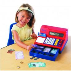 Kasos aparatas su kalkuliatoriumi ir stalčiumi
