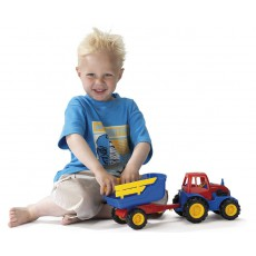 Traktorius su priekaba, 42 cm