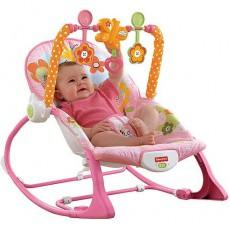 Fisher price gultukas -kėdutė kūdikiui rožinis