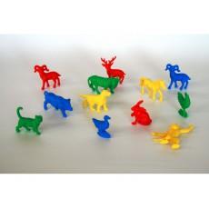 Mažosios gyvūnų figūrėlės, 192 vnt.