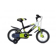 """Mažas dviratukas (juodas/žalias) 12"""""""
