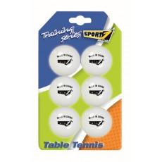6 stalo teniso kamuoliukai
