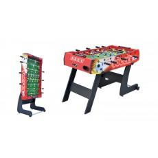 Sudedamas mobilus stalo futbolo stalas, 121 x 61 x 80 cm