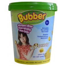 "Lipdymo masė ""Bubber"", geltona, 200 g"