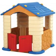 Žaidimų namelis mėlynas, 114x114x121 cm