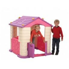 Žaidimų namelis violetinis, 114x114x121 cm