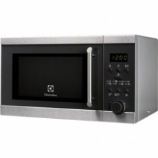 Laisvai pastatoma mikrobangų krosnelė Electrolux EMS20300OX