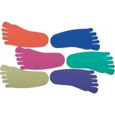 Guminių pėdų formų rinkinys, 12vnt.