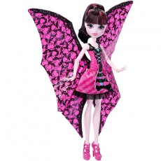 Monster High lėlė Draculaura šikšnosparnė