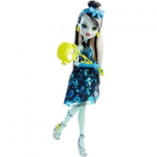 Monster High lėlė Frankie Stein Fotomodelių pasaulis