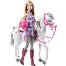 Barbė raitelė ir žirgas