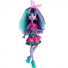 Monster High lėlė Twyla Įsielektrink