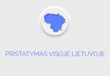 Pristatymas visoje Lietuvoje