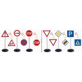 Kelio ženklų rinkinys vairuotojui