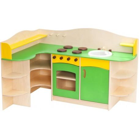 Kampinė virtuvėlė