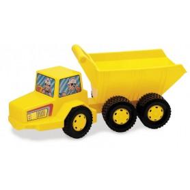 Statybininkų sunkvežimis