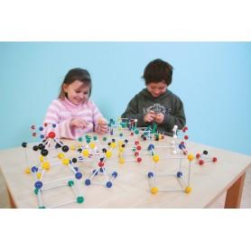 Geometrinių formų (molekulių) konstruktorius