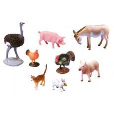 Gyvūnų figūrėlių rinkinys Nr. 1