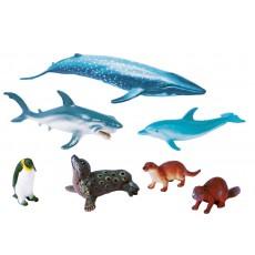 Jūros gyvūnų figūrėlių rinkinys