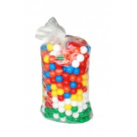 Plastikiniai kamuoliukai,  6 cm, 500 vnt.
