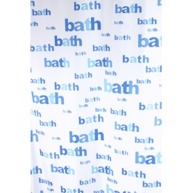 Užuolaidos voniai BATH mėlina