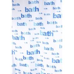 Užuolaidos voniai BATH mėlyna