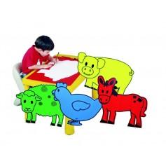 """Didelės figūros dekoracijos """"Naminiai gyvūnai"""""""