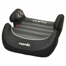 NANIA automobilinė kėdutė - boosteris Topo graphic black 543976