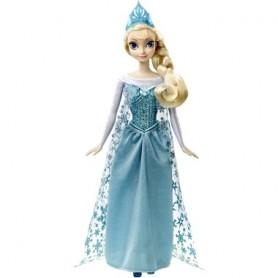 Disney princesės Elsa iš Ledo šalies dainuojanti