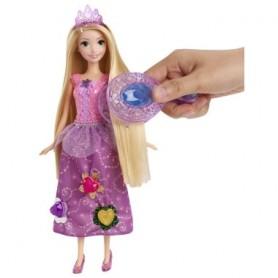 Princesė Rapunzelė su stebuklingu deimantų aplikatoriumi