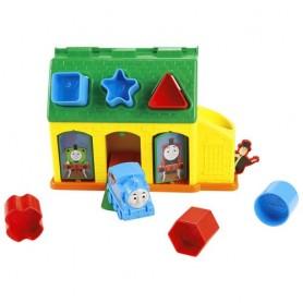 Thomas&Friends formelių rūšiuoklė su traukinuku