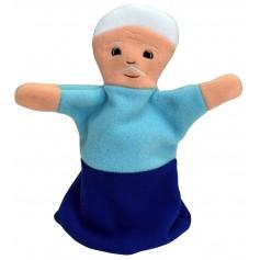 """Pirštininė lėlė """"Senelis"""""""
