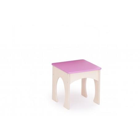 Kėdutė kosmetiniam staleliui (rožinė sp.)