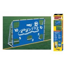 """Futbolo vartai """"Target"""" su tekstiline sienele, 180x60x120 cm"""