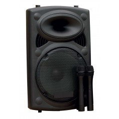 Mobili daugiafunkcinė garso kolonėlė su mikrofonais