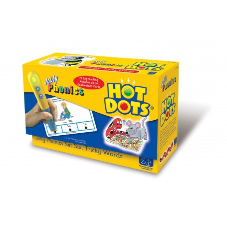 "Kortelės ""HOT DOTS. Tricky words"""