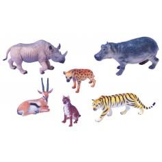 Egzotinių gyvūnų figūrėlių rinkinys Nr. 1