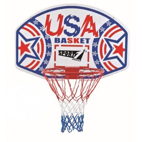 """Krepšinio lenta su lanku """"USA Basket"""", Ø 46 cm"""