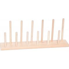Stovelis pirštininėms lėlėms, 7,5 x 40 cm