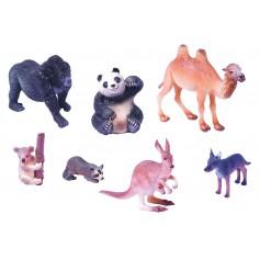 Egzotinių gyvūnų figūrėlių rinkinys Nr. 2