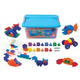 """Morphun konstruktorius """"Starter Rainbow 300"""" plastiko dėžėje"""