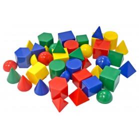 Mažosios geometrinės formos, 40 vnt.