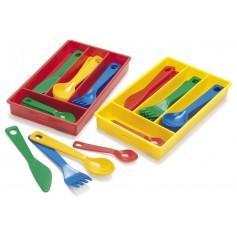Stalo įrankių rinkinys, 17 vnt.