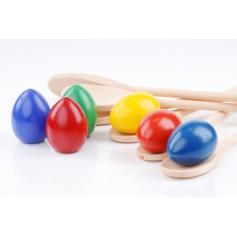 Šaukštų - kiaušinių rinkinys
