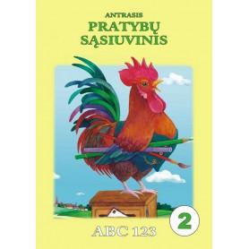 Antrasis pratybų sąsiuvinis ABC 123