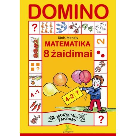 """Leidinys """"Domino. 8 matematiniai žaidimai"""""""