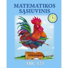 Matematikos sąsiuvinis ABC 123