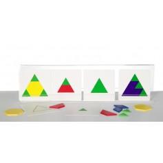 """Mažasis kortelių rinkinys """"Geometrinės figūros"""""""