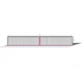Lauko teniso tinklas Sport, 3 mm