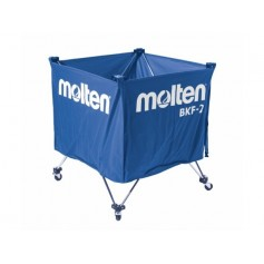 Vežimėlis kamuoliams MOLTEN 60x60x55cm